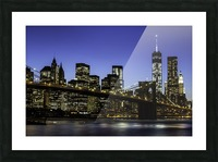 NY City Lights  Picture Frame print