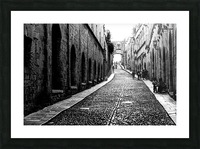 Street of the Nights Picture Frame print