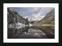 Maroon Bells full color Picture Frame print