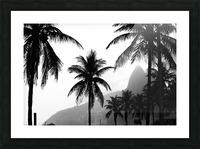 Ipanema B&W Picture Frame print