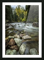 Rocky Mountain Stream II Picture Frame print