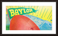 Baylor Bears Football Pennant Poster (1935) Picture Frame print