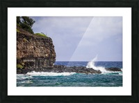 Kahili Beach   Kauai Hawaii 1035 Picture Frame print