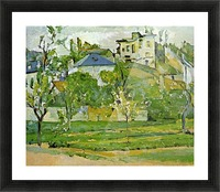 Fruit garden in Pontoise by Cezanne Picture Frame print