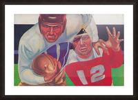 Vintage Football Fine Art Prints_ Old Football Art Poster Picture Frame print