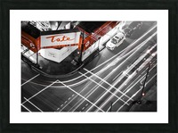 Street long exposure Picture Frame print
