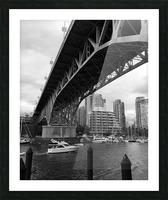 Bridge Picture Frame print