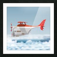 Avione Martellino Picture Frame print