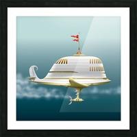 Imbarcazione Volante Dommo Picture Frame print