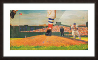 The Mound_Vintage Red Sox Baseball Art_Row One Brand Picture Frame print