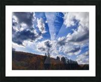 Cloudscape Picture Frame print