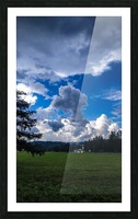 Stormy clouds Picture Frame print