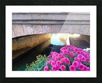 France Water Under The Bridge Picture Frame print