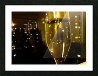 Champagne 4 Picture Frame print
