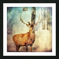 Dans les bois Picture Frame print
