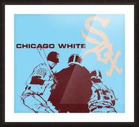 Chicago White Sox Baseball Poster Fine Art Picture Frame print