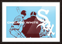 ChicagoWhiteSoxPoster_CheapBaseballPosters_UniqueChicagoGiftIdeas Picture Frame print