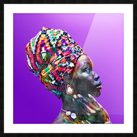 ColorThroughCulture VI Picture Frame print