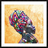 Color Through Culture I Picture Frame print