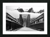 Canmore Iconic Engine Bridge Picture Frame print