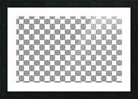 seamlesstilederivativepattern Picture Frame print