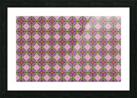 seamlesspsychedelicpattern Picture Frame print