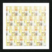 abstract pattern Picture Frame print