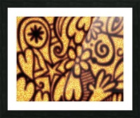 background pattern Picture Frame print