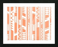 tribal pattern Picture Frame print