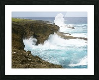 Mesmerizing Danger Picture Frame print