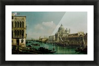 View of the Grand Canal and the Dogana Picture Frame print