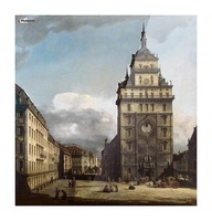 The Kreuzkirche in Dresden Picture Frame print