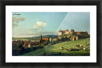 View of Pirna from the Sonnenstein Castle, c. 1750 Picture Frame print