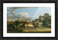 Pirna - The Obertor from the South Picture Frame print
