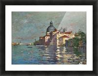 Entering Venice Picture Frame print