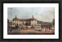 The imperial summer residence, courtyard Picture Frame print