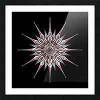 Starfish Fusion Mandala Picture Frame print