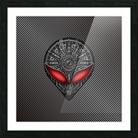 Altered Carbon Red Eye Reactor Picture Frame print