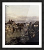 The Moat of the Zwinger in Dresden Picture Frame print