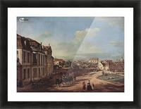 Royal castle Picture Frame print
