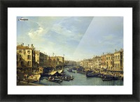 Venice - The Grand Canal Picture Frame print