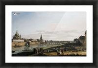 Dresden vom rechten Elbufer Picture Frame print