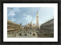 Piazza San Marco Picture Frame print