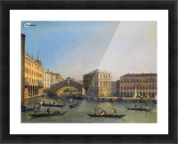 Rialto Bridge Canaletto Picture Frame print
