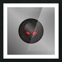 Altered Carbon Red Eye Demon Picture Frame print