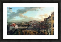 View of Warsaw from the terrace of the Royal Castle Picture Frame print