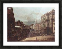 View of Vienna, flour market of Southwest seen from northeast Picture Frame print