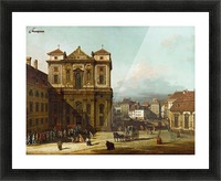 Procession in Dresden Picture Frame print