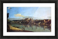 The Hermitage Museum. View of Pirna from Posta Picture Frame print