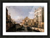 Rio dei Mendicanti with the Scuola di San Marco Picture Frame print